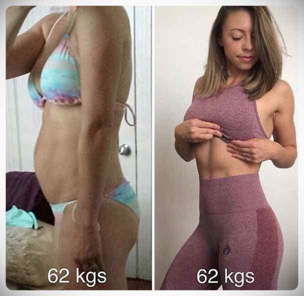 No siempre perder kilos es sinónimo de estar mas delgada, atento a estas fotos... 7