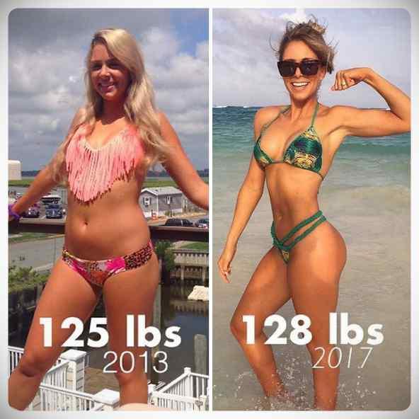 No siempre perder kilos es sinónimo de estar mas delgada, atento a estas fotos... 11