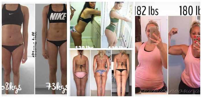 No siempre perder kilos es sinónimo de estar mas delgada, atento a estas fotos... 9