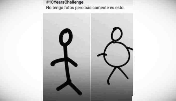 Los mejores memes del reto de los 10 años. 11