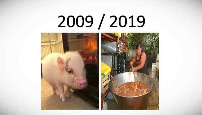 Los mejores memes del reto de los 10 años. 12