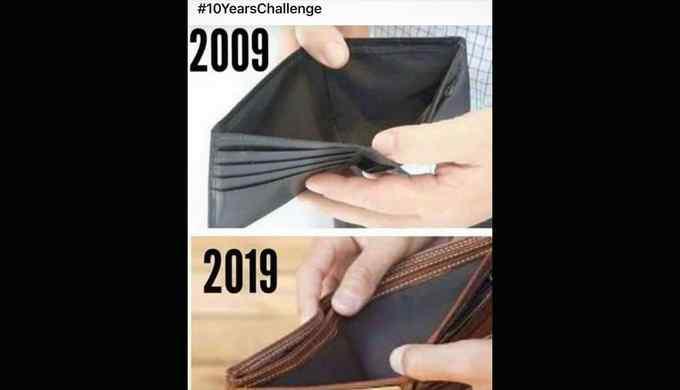 Los mejores memes del reto de los 10 años. 14