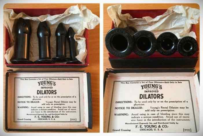 El invento del Dr Young, un dilatador anal que curaba desde la locura hasta el constipado. 5