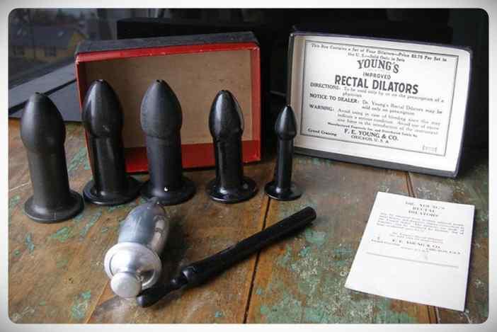 El invento del Dr Young, un dilatador anal que curaba desde la locura hasta el constipado. 7