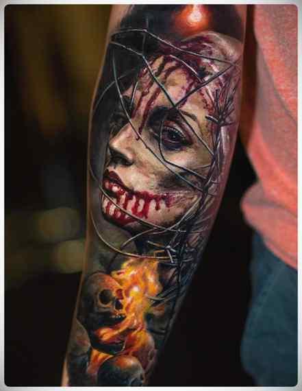 Increíbles imágenes de tatuajes, son obras de arte. 13