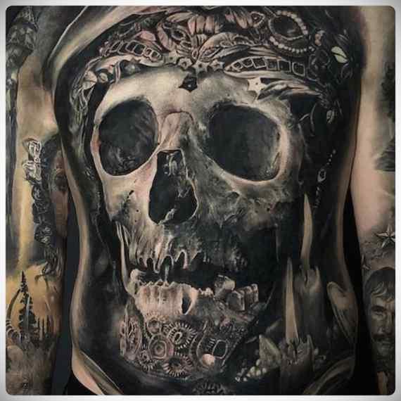 Increíbles imágenes de tatuajes, son obras de arte. 16