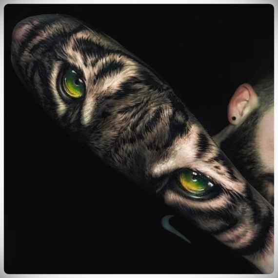 Increíbles imágenes de tatuajes, son obras de arte. 2