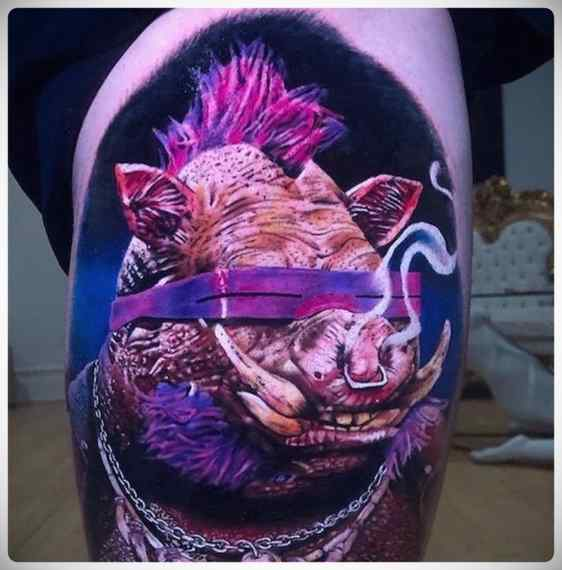 Increíbles imágenes de tatuajes, son obras de arte. 4