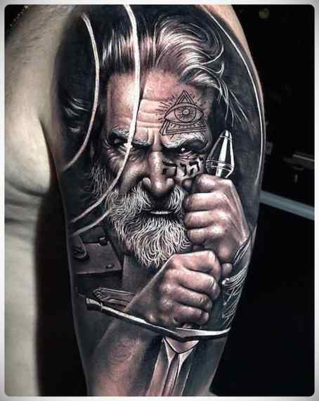 Increíbles imágenes de tatuajes, son obras de arte. 8