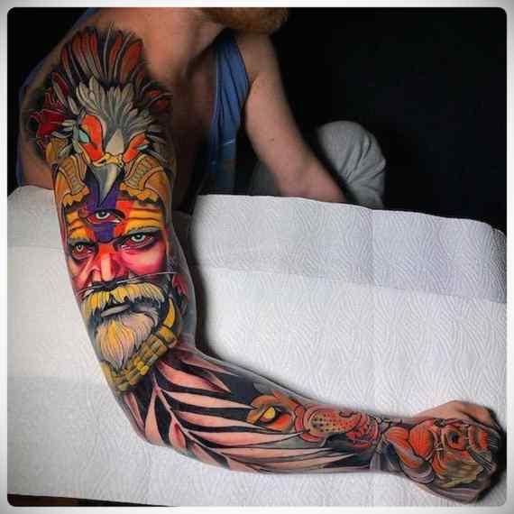 Increíbles imágenes de tatuajes, son obras de arte. 10