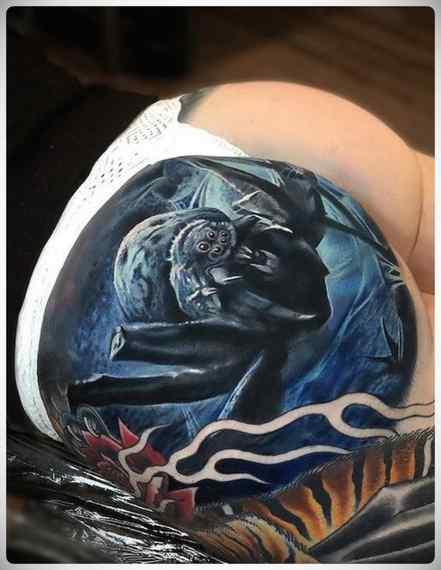 Increíbles imágenes de tatuajes, son obras de arte. 12