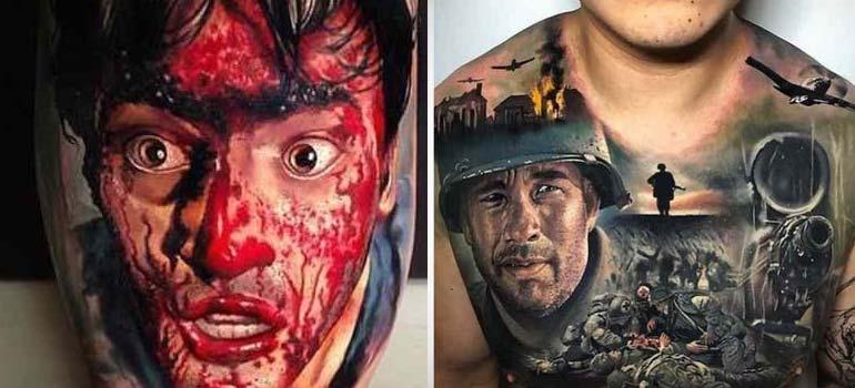 Increíbles imágenes de tatuajes, son obras de arte. 6