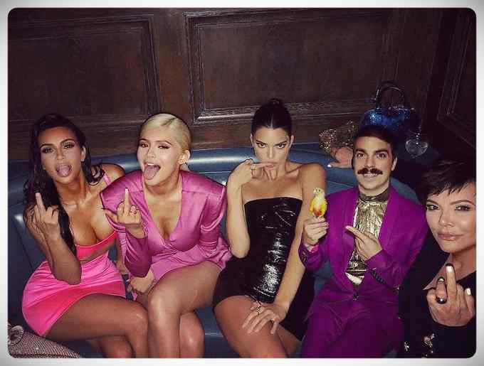 Kirby Jenner el azote en Instagram de Kendall Jenner. 7