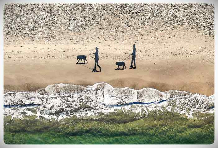Las mejores fotos tomadas con drones del 2018. 5