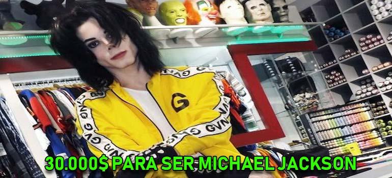 Un Argentino se gasta 30.000 dolares para parecerse a Michael Jackson. 10