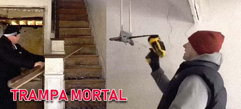 Descubren una trampa mortal en una casa laboratorio de Meta. 1