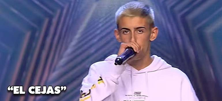 elcejas got talent 770x350 - El Cejas va a Got Talent con su cancion El Dembow del Pimpin.