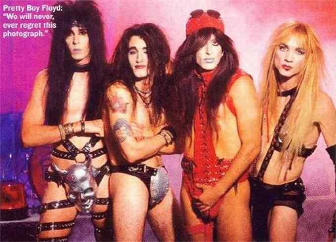 Cualquier tiempo pasado fue mejor. Fotos de grupos Heavys. 7