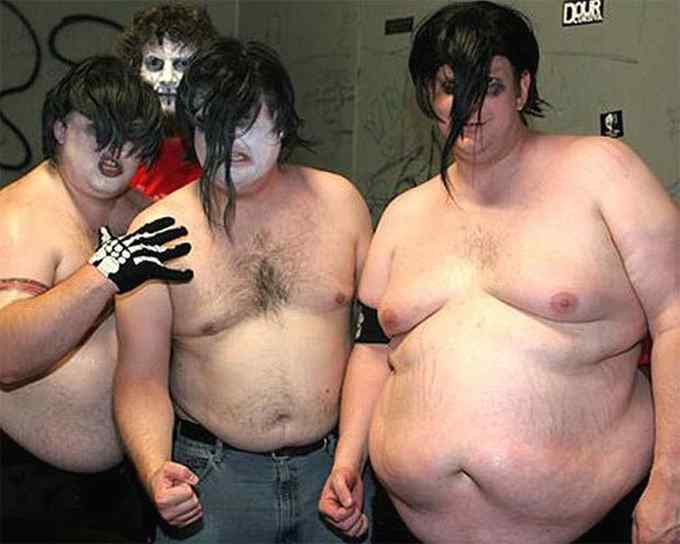 Cualquier tiempo pasado fue mejor. Fotos de grupos Heavys. 10