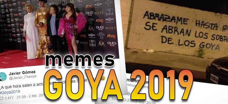 Memes de los Goya 2019, los 10 mejores. 7