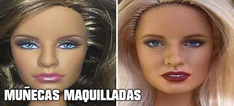 Muñecas maquilladas de forma realista. Galería de fotos impresionante. 2