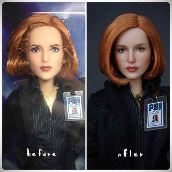 Muñecas maquilladas de forma realista. Galería de fotos impresionante. 15