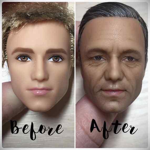 Muñecas maquilladas de forma realista. Galería de fotos impresionante. 19