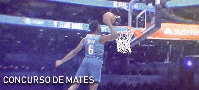 Ganador del concurso de mates de la NBA 2019. 8