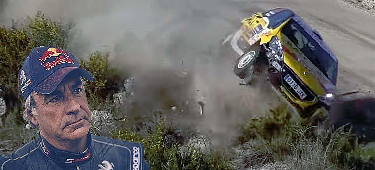Espectaculares accidentes en carreras de Rally. 1