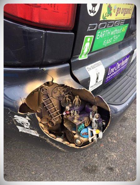 arreglos crativos golpes coche 02 - 10 maneras de arreglar el coche sin gastar dinero.