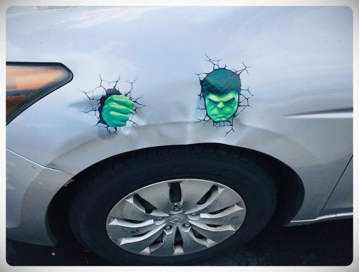 arreglos crativos golpes coche 04 - 10 maneras de arreglar el coche sin gastar dinero.