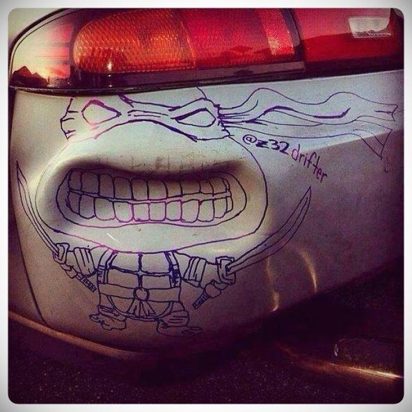 arreglos crativos golpes coche 06 - 10 maneras de arreglar el coche sin gastar dinero.
