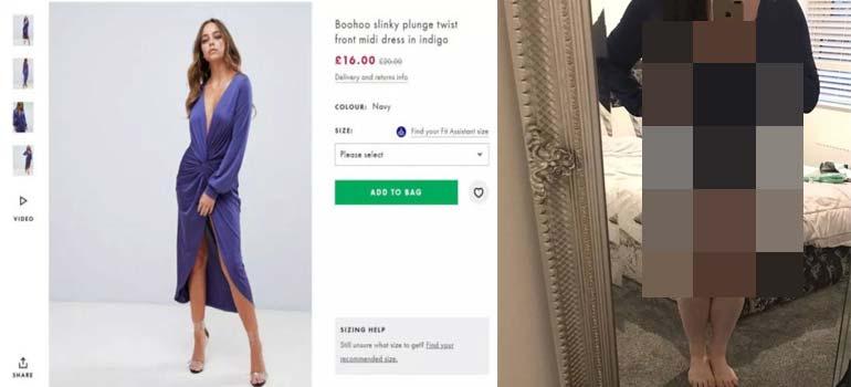 No te pierdas el vestido que ha comprado esta mujer en una web. 4