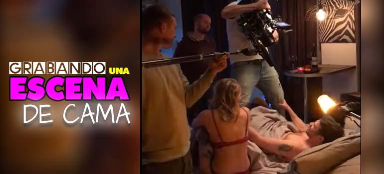 Así se rueda una escena de sexo en el cine. 7