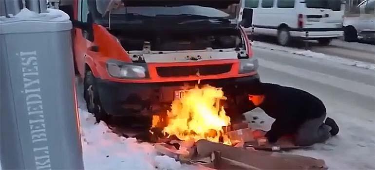 Cómo arrancar el coche cuando hace mucho frío. 7