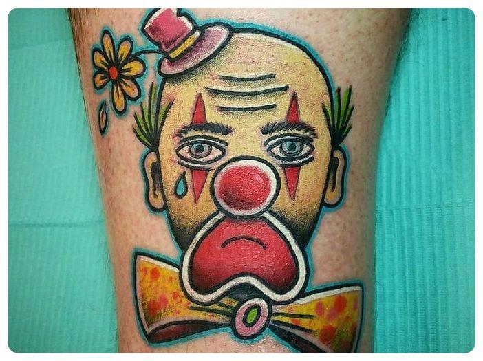 Significado de los tatuajes que llevan los delincuentes. 14