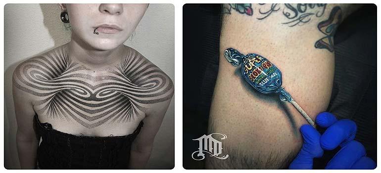 Tatuajes en 3D, espectaculares trabajos. 3