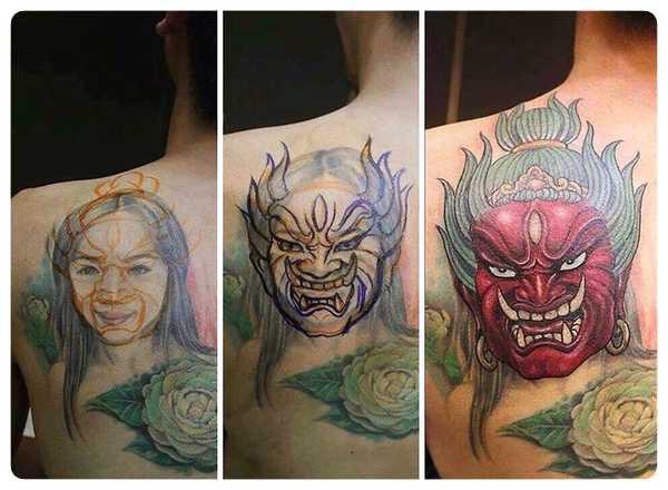 Arrepentidos de su tatuaje. Cuando el amor se termina. 4