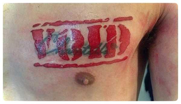 Arrepentidos de su tatuaje. Cuando el amor se termina. 7