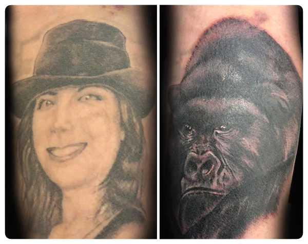 Arrepentidos de su tatuaje. Cuando el amor se termina. 8