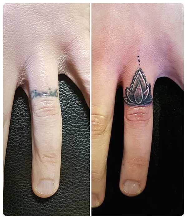 Arrepentidos de su tatuaje. Cuando el amor se termina. 9