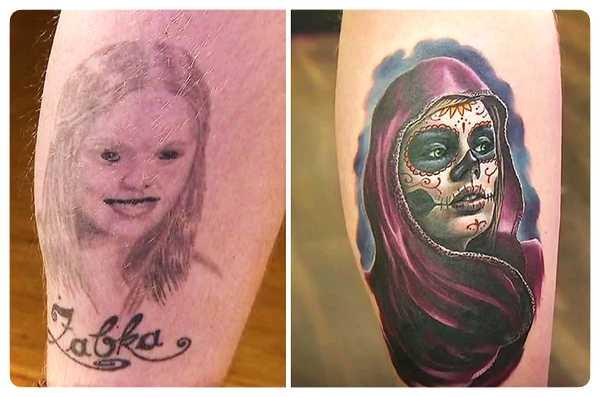 Arrepentidos de su tatuaje. Cuando el amor se termina. 11