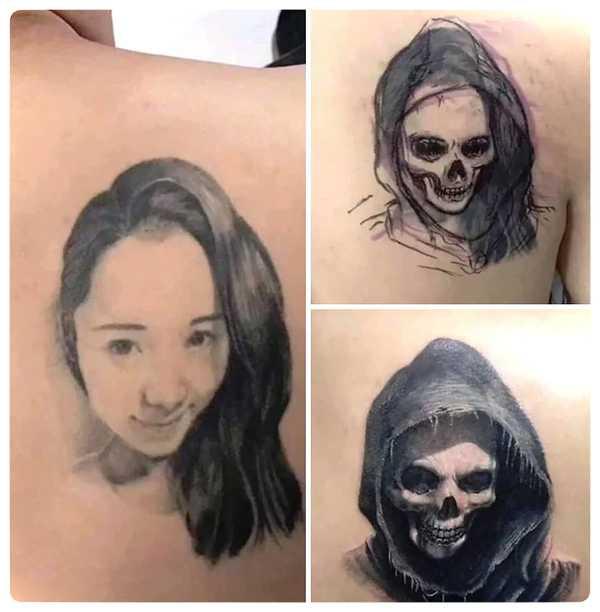 Arrepentidos de su tatuaje. Cuando el amor se termina. 13