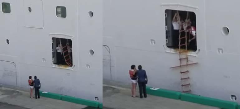 ¿Qué pasa cuando llegas tarde a un crucero? 17