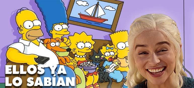 Los Simpson ya predijeron el episodio 5 de Juego de Tronos. 1
