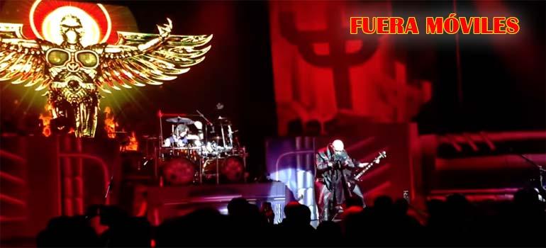 Al cantante de Judas Priest no le gusta que uses el móvil en sus conciertos. 5