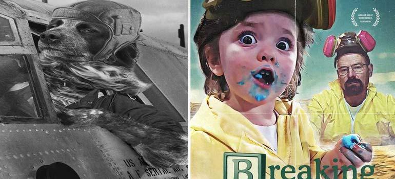 Batallas de Photoshop, las mejores fotos. 10