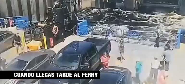 Cuando has perdido el Ferry, pero todavía te queda una oportunidad. 3