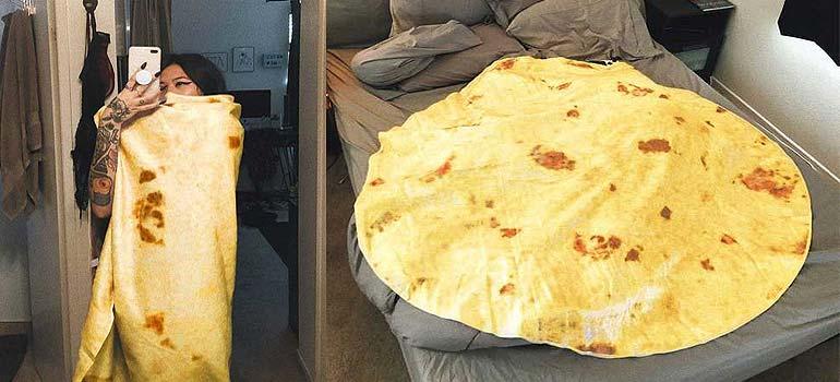 """La manta de tortita de """"burrito"""" que lo esta petando en Amazon. 2"""