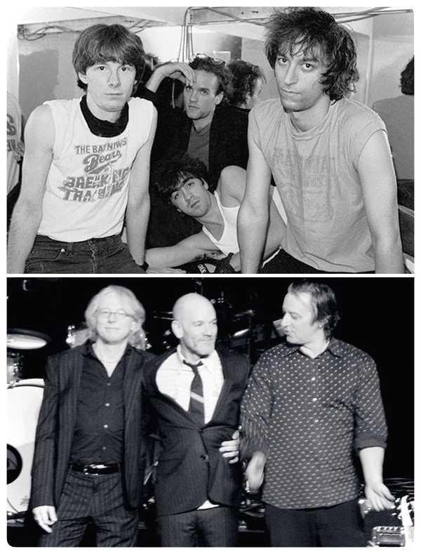 15 Fotos de míticas bandas de Rock y de como ha pasado el tiempo. 15